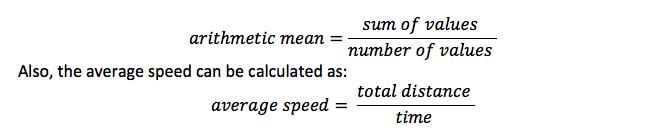 act-exam-arithmetic mean-formula